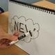 A4 reusable notebook