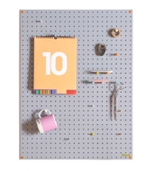 Pegboard - Grey - Large - 80 by 60cm