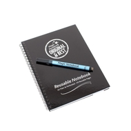 A5 Reusable Magic Notebook ™ & Dry Erase Correctable pen - reusable whiteboard notebook and pen - 40 pages