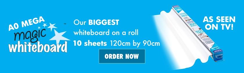 A0 MEGA Magic Whiteboard