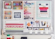 Craft Room Pegboard - White - Large - 80 by 60cm