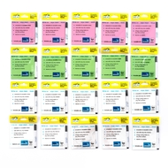 20 pack - Multi Pack - Magic Sticky Notes™ -  5 PINK, 5 GREEN, 10 WHITE - 1000 sheets