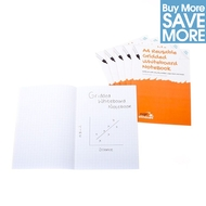 Class Pack (only £1 each) - 30 A4 Reusable Squared Magic Whiteboard Notebooks™ - 8 pages