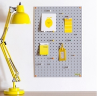 Pegboard - Grey - Medium - 60 by 40cm