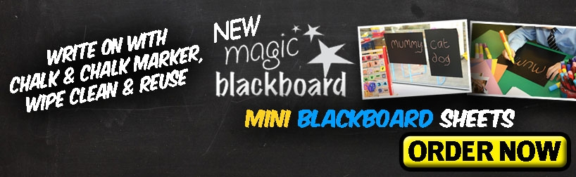 A4 Mini Magic Blackboard sheets