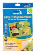 A4 Magic Whiteboard - GREEN  - Mini Whiteboard sheets - 20 sheets