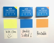 3 Packs - Sticky Notes - YELLOW, BLUE, ORANGE