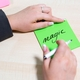 Green Magic Sticky Notes