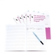 A4 Reusable Whiteboard Manuscript Paper ™  8 pages