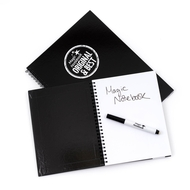 A5 Reusable Magic Notebook ™ - reusable whiteboard notebook and pen - 40 pages