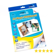 A4 Magic Whiteboard ™ - WHITE  - Mini Whiteboard sheets - 20 sheets