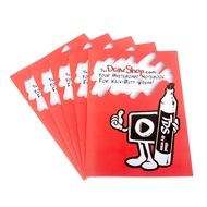 250 Custom branded A4 Plain Reusable Whiteboard Notebooks - 8 pages