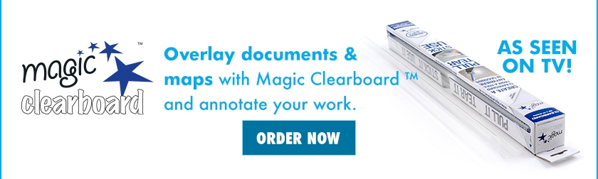 NEW - Magic Clearboard