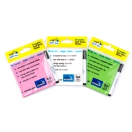3 pack - Multi Pack - Magic Sticky Notes ™ - PINK, GREEN, WHITE - 150 sheets