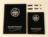 Twin Pack - A4 and A5 Reusable Magic Notebook ™