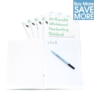 Class Pack (Save £29.71) - 30 A4 Reusable Magic Whiteboard Handwriting Notebook ™  8 pages