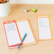 Knock Knock Pad - To Do List - To Buy List