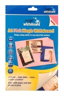 A4 Magic Whiteboard - PINK  - Mini Whiteboard sheets - 20 sheets