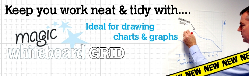 Gridded Magic Whiteboard