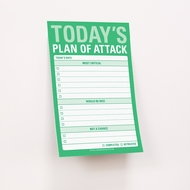 Knock Knock Sticky Notes - Today's Plan of Attack - Great Big Sticky Notes