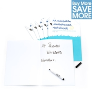 Class Pack (Save £29.71) - 30 A4 Plain White Reusable Magic Whiteboard Notebooks  ™ - 8 pages