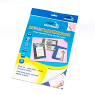 A4 Magic Whiteboard ™ - PINK  - Mini Whiteboard sheets - 20 sheets