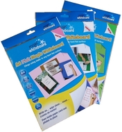 3 pack - Multi Pack - A4 Magic Whiteboard - PINK, WHITE, GREEN - 60 sheets
