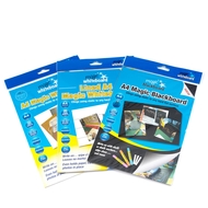 3 pack - Multi Pack - A4 Magic Whiteboard ™ - LINED , BLACK , WHITE - 60 sheets