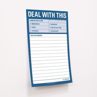 Knock Knock Sticky Notes - Deal With This - Great Big Sticky Notes