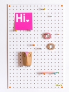 White Pegboard - Medium - 60 by 40cm