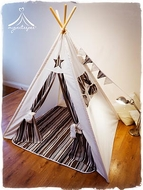 Handmade Luxury Children's Teepee Set - Cosmo