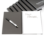 Class Pack - 30 A5 Reusable Magic Notebooks ™, 30 Dry Erase Whiteboard Markers