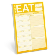Knock Knock Meal Planner Pad - What to Eat