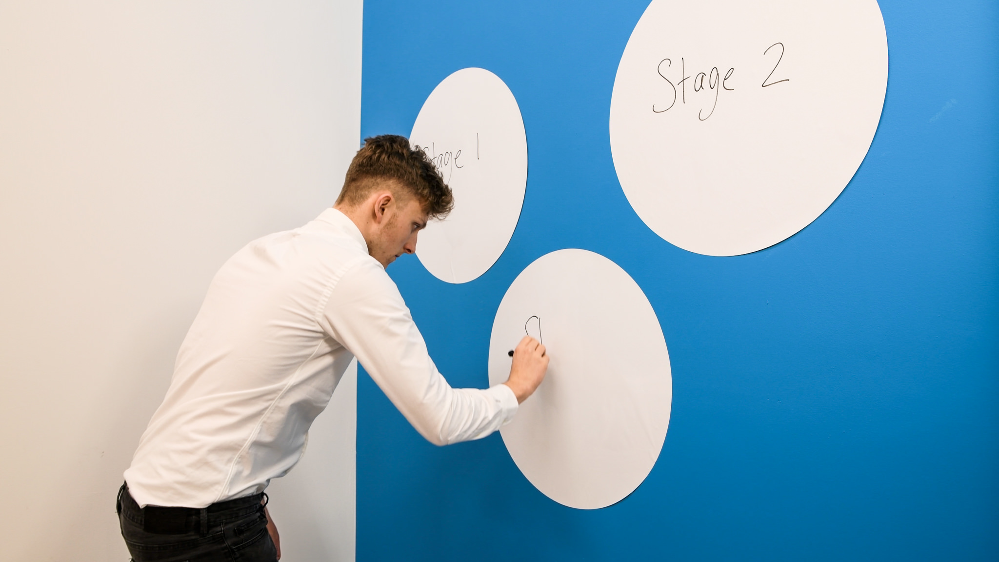 New Circle Whiteboard for offices
