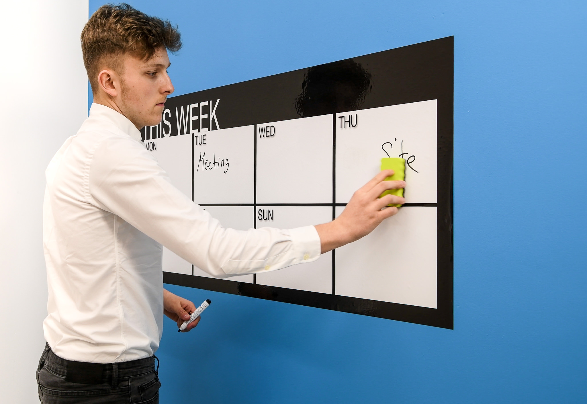New Weekly Whiteboard Planner 120 by 60cm