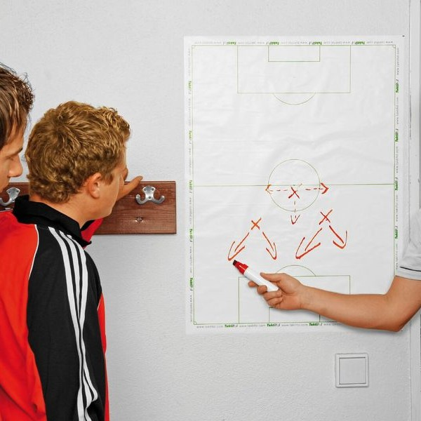 Football Tactics Whiteboard Roll, Football Whiteboard, Football Dry Erase Whiteboard, Coaching Whiteboard