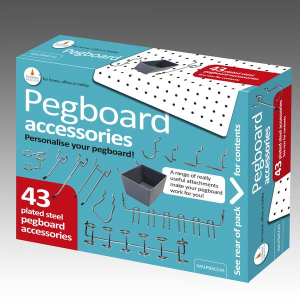 Pegboard Hooks, Pegboard Hook, Pegboard Containers, Pegboard Accessories