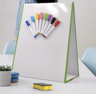 🧲 Tabletop Whiteboard, Folding Tabletop Whiteboard, Magnetic Whiteboard Easel