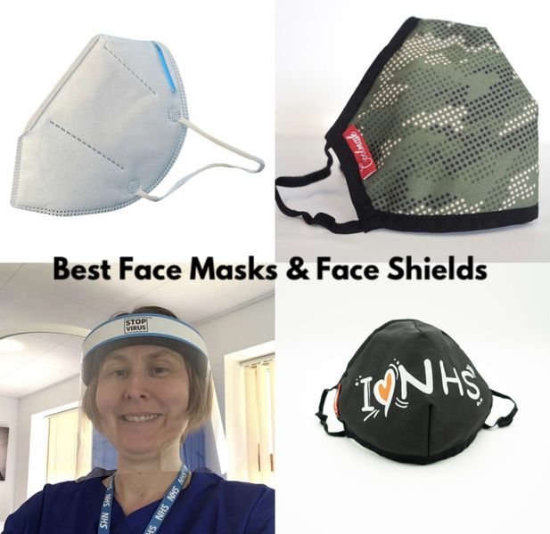 New - 😷 Best Face Masks, Face Shields