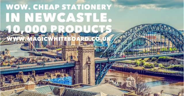 Where to buy office supplies and stationery in Newcastle?