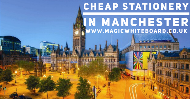 Do you need cheap office supplies and office stationery in Manchester? We have the cheapest prices for stationery in Manchester. 