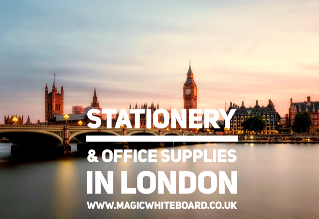 Do you need quality office supplies and office stationery in London?