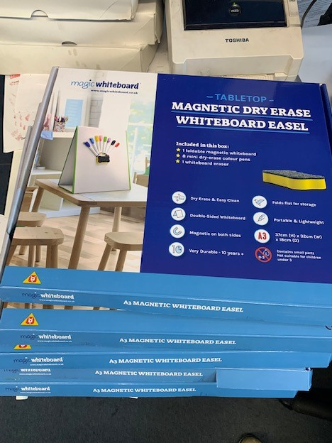 250 Free School 🧲 Tabletop Whiteboards for Worcestershire Schools