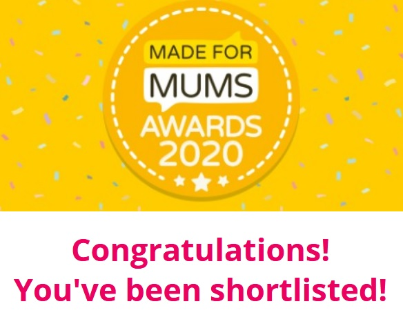 Made for Mums Awards 2020 - Short Listed - Kids Travel Tabletop Whiteboard