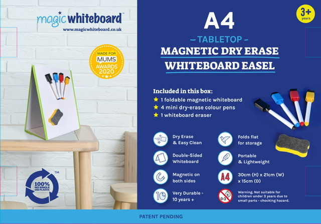 Magic Whiteboard product 1st in World to be certified 100% No Single Use Plastic