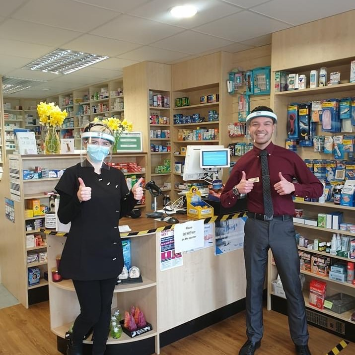 W Davidsons Chemists started using 😷 Stop Virus ™ Pharmacy & Chemist Face Shields to protect their 350 staff and thousands of customers who visit their pharmacies every day.