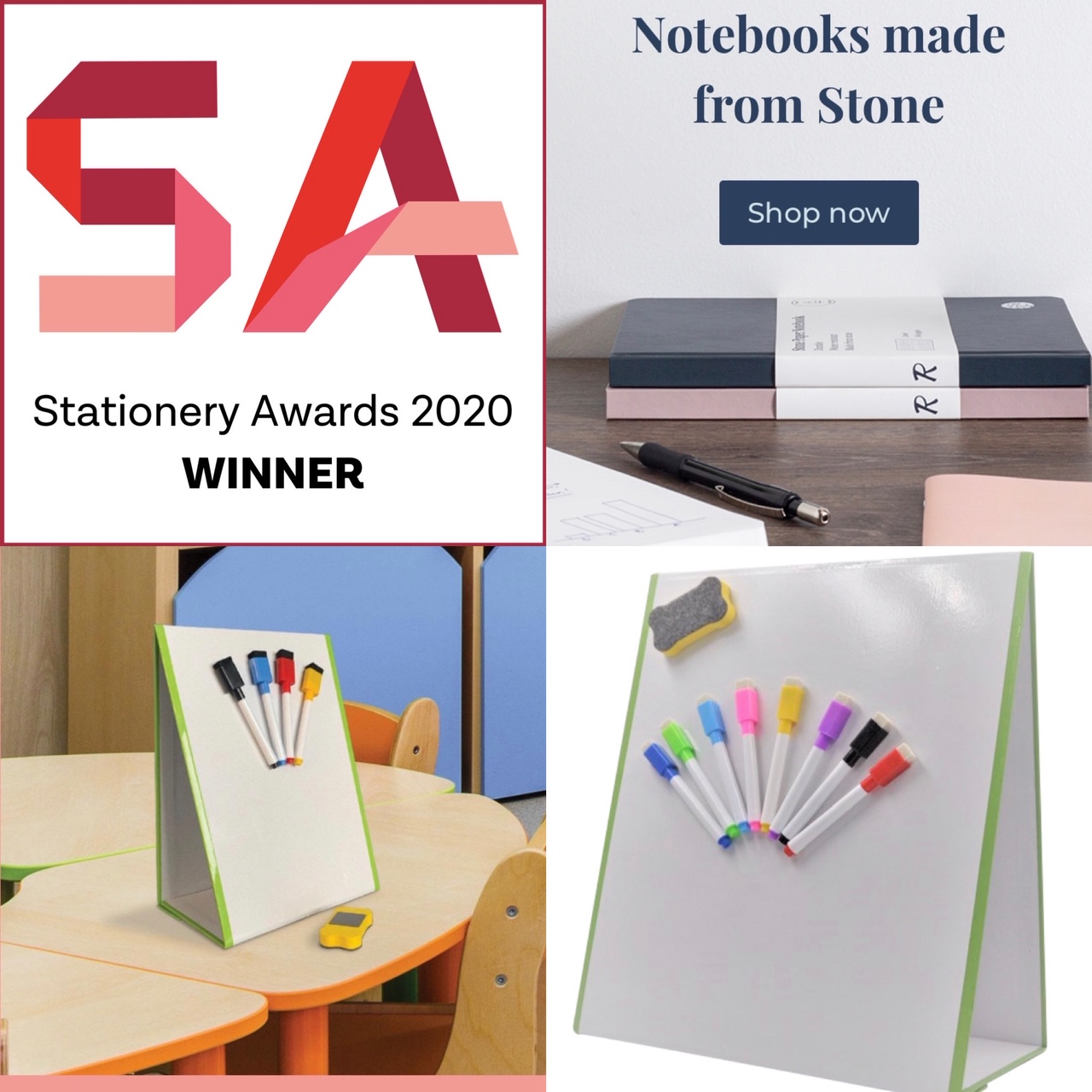 Stationery Show Winner 2020 - Magic Whiteboard Tree Free Notebooks